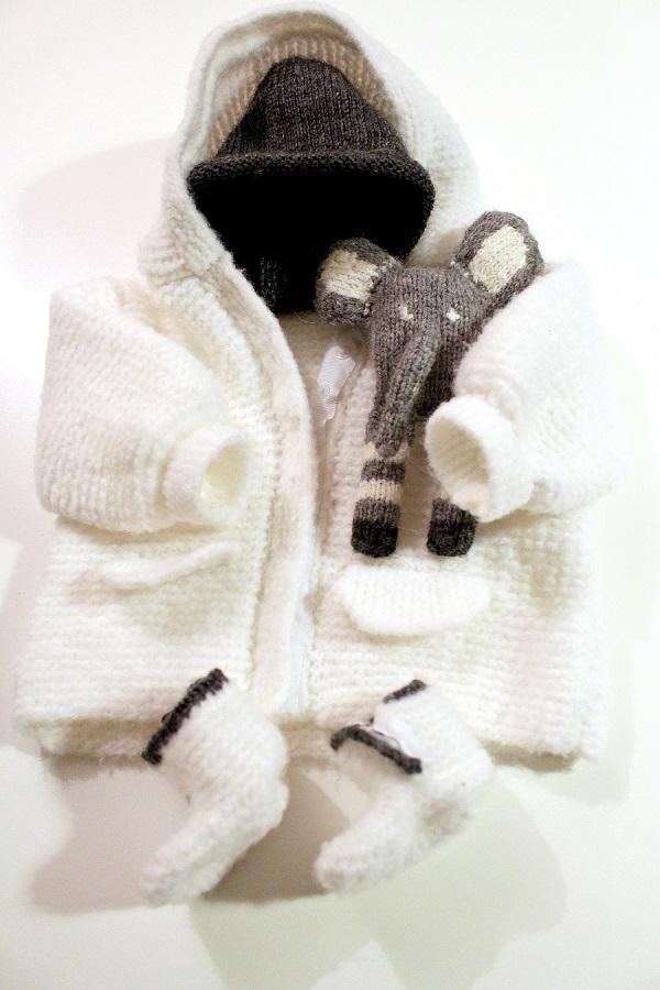 trousseau naissance au tricot