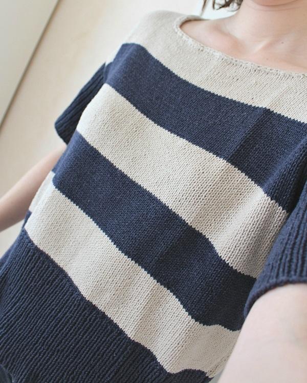 marinière au tricot